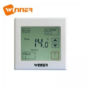 China Indoor Wall Mounted Thermostat , Wireless Central Heating Thermostat 3A 5A on sale