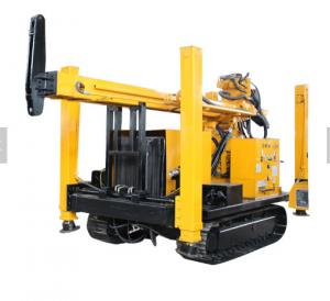 China Crawler Hydraulic Pneumatic Water Well Drilling Rig Underground Stable Performance on sale