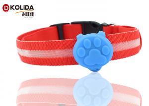 China Pretty Mini Safety Dog LED Light ID Tag , LED Dog Collar Blinker Lights on sale