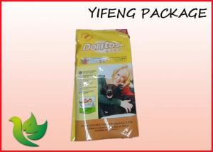 China 25BL Side Gusset Pet Food Bags / Heat Sealing Dog Food Bag With Printing on sale