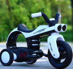 China High quality OEM children's electric motorcycle baby charging tricycle baby battery car baby toy carriage for 2-7 years on sale