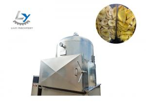 China Vegetables & Fruits Continuous Vacuum Fryer , Automatic Potato Chips Making Machine on sale