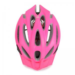 China PC Pink Bike Helmet Adult Unique 250g - 260g CE CPSC Certificated on sale