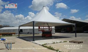China 10x10m modular high peak pagoda tent for sale on sale
