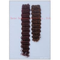 Deep wave weaving hair