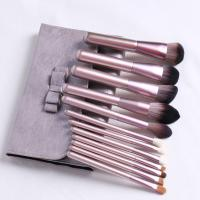 China Convenient Makeup Artist Brush Set , Mini Foundation Brush Magic Retractable on sale