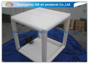 China Sealed  Inflatable Air Tent Outdoor Oxford Marquees White Square Inflatable Camping Tent on sale