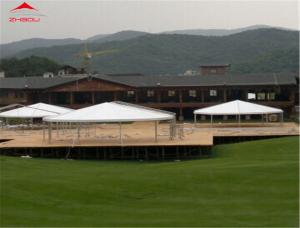 China 8000 People Garden Marquee Tent / Big Polygon Tent With AC For Events And Concert on sale