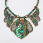 Fashion Accessories Bohemian Colored Braided Alloy Necklace