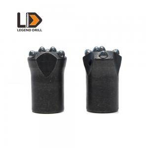 China 30mm - 45mm Shale Taper Button Bit , Customized Color Button Drill Bit on sale