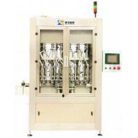 12 Heads High Viscosity Piston Filling Machine For Suspending Agent, Seed Coatings