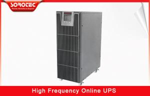 China 1-20KVA high frequency ups Large LCD display and Intelligent Battery Monitors on sale