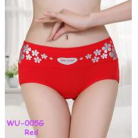 High qulity  new anti emptied underwear briefs  women cotton printing