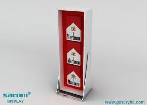 China Portable Acrylic Cigarette Display Cabinet For Countertop Show on sale