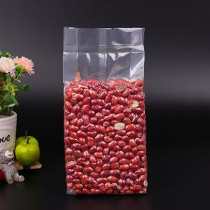 China Food Grade Vacuum Food Storage Bags , Color Laminated Clear Plastic Food Bags on sale