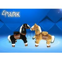 China Polyurethane Kiddy mechanical riding horse / Coin Operated Animal Rides on sale