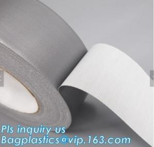 China Custom Color and Size Heavy Duty Duct Tape,cloth duct tape silver insulation tape black carpet protection usage masking on sale