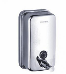China Stainless steel Soap dispensers for hotel bathroom or toilet or supermarket, store on sale