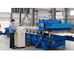China Roof tile making machine on sale
