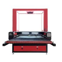 1280 CCD Small Laser Cutting Machine Auto Feeding Biaxial Asynchronous For Soft Material