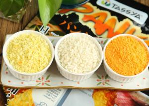 China Yellow & White Japanese Style Panko Breadcrumbs For Fried Seafood Surface on sale