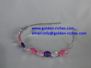 China Fashion Acrylic Stones Headband on sale