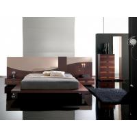 Modern leather bedroom bed bedroom furniture