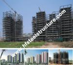 Industrial Prefabricated Q235,Q345 Steel Multi-storey Steel Building For Factory, Workshop