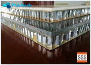 China Different Surface Treated Facing Stone Honeycomb Ceiling Panels For Decoration on sale