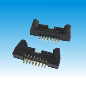 China Short Latch Male Pin Header Connector , 2mm Pitch Header Straight Connector on sale