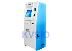 China Interactive Kiosk Bill Payment Machine , Cash Kiosk Machines With Coin Hopper on sale