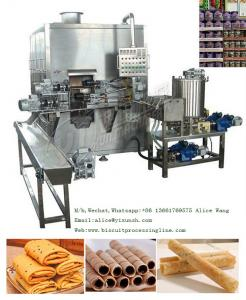 China Wafer Stick machine Two color Wafer stick making machine 50kg/h wafer stick production processing line on sale