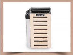 China Wooden Frame Dry Steam Sauna Heater , Mini Size Portable Electric Sauna Stove on sale