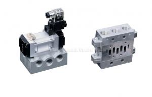 China ISO Solenoid Valve 5/2  With Manifold Block YPC Equivalent on sale