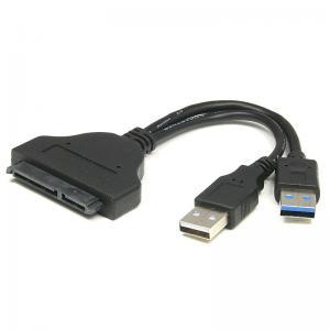 China Mâle d'USB 3,0 à l'adaptateur femelle de SATA avec le câble d'alimentation de l'énergie USB2.0 pour le lecteur de disque dur HDD on sale