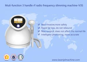 China Multifunctional RF Beauty Equipment 3 Handles Rf Radio Frequency Slimming Machine on sale