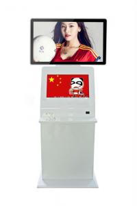 China Electric Indoor Led Signs Kiosk Digital Signage , Dual Screen LCD Advertising Player on sale