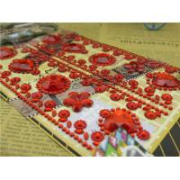 China Bling Self Adhesive Rhinestones acrylic jewelry sticker children sticker car sticker on sale