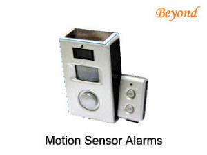 China Solar  Battery Powered Automatic Switch Motion Sensor Alarms For Home Guard on sale