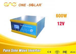 China Off Grid Solar Panel Power Inverter Dc To Ac Power Inverter 600w 24v 220v on sale