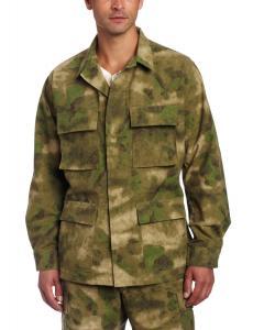China Men Army Camouflage Uniform , Cotton Ripstop Battle Dress Uniform on sale