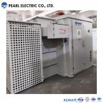 Hermetic padmounted transformer with capactity of 2400 kva