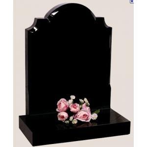 China Shanxi noircissent la pierre tombale de granit, pierre monumentale de granit on sale