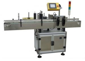 China Sticker Electric Automatic Labeling Machine 580W For Small Round Oval Bottles on sale