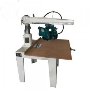 China MJ23 Woodworking Manual Radial Arm Aluminum Arm Circular Saw in china on sale