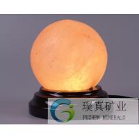 Beautiful ball shaped Salt Lamps with many health benefits