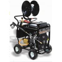 China Portable Commercial Pressure Washers 5000 PSI 350BAR 24HP SAE30 Pump Oil Type on sale