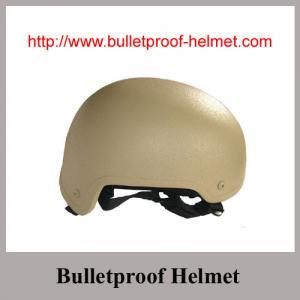 China Khaki Desert color MICH bulletproof helmet on sale