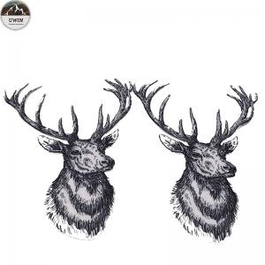 China Fashion Custom Made Embroidered Patches To Sew On Clothing Imitation Super Cloth on sale