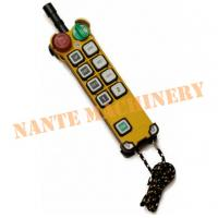 China 8 Buttons Handheld Radio Industrial Telecrane Remote Control Original From Taiwan on sale